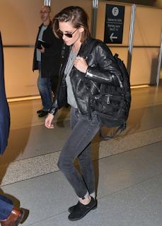 Model Jaket Kristen Stewart saat di toronto