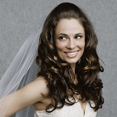 bridal long hairstyles for long hiar with veil half up 2013 for short hair indian half up half
