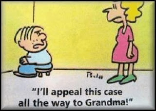 I'll Appeal This Case All the Way to Grandma