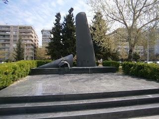 το μνημείο πεσόντων αεροπόρων στη νέα παραλία της Θεσσαλονίκης
