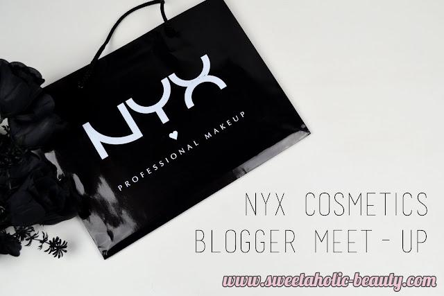 NYX Cosmetics Blogger Meet-Up - Sweetaholic Beauty