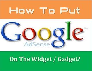 Cara Pasang Iklan Google Adsense Pakai Widget Di Blogger