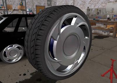 modelo 3d mod roda orbital para GTA SA
