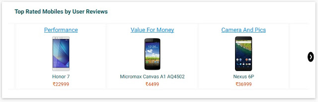 Top Rated Smartphones by user reviews