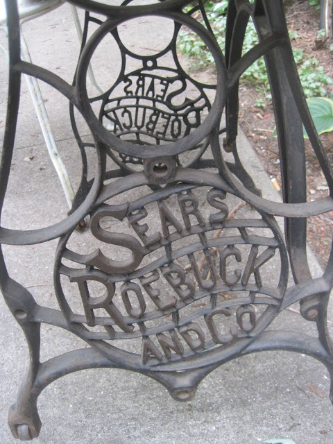 Sears Roebuck and Co. Cast Iron Legs