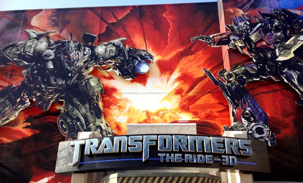 Simulador do Transformers em Orlando