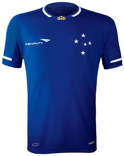 Penalty é a nova fornecedora de uniformes do Cruzeiro - Show de Camisas 50eaff2337387