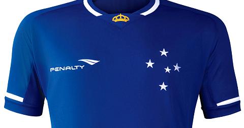 Penalty é a nova fornecedora de uniformes do Cruzeiro - Show de Camisas 86820331f9f9d