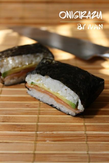 суши сандвичи, онигиразу