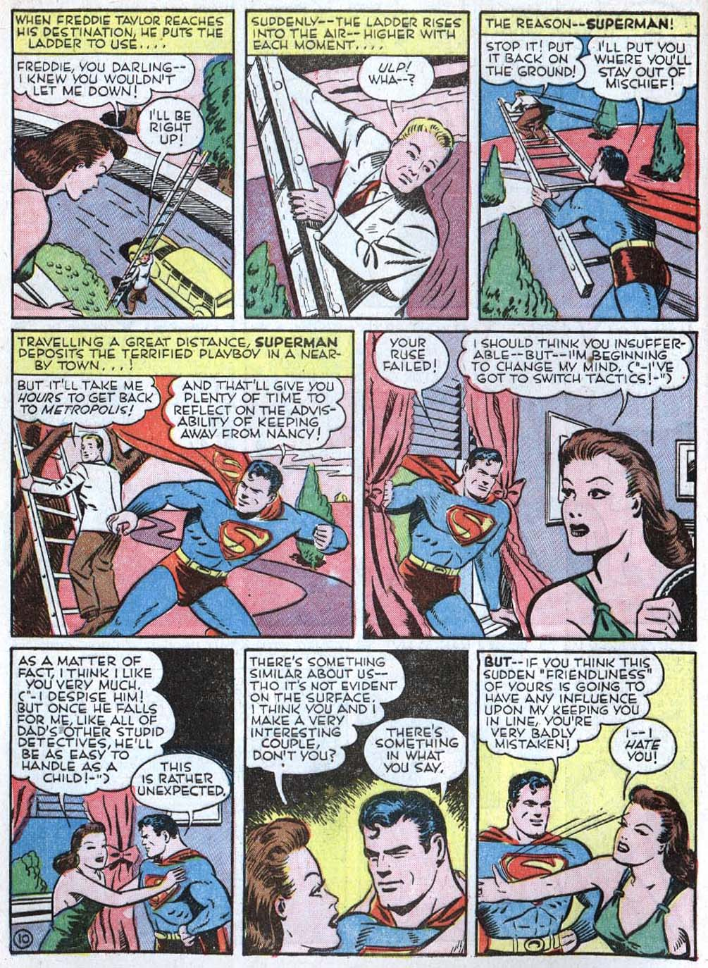Read online Action Comics (1938) comic -  Issue #40 - 12