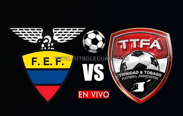 Ecuador y Trinidad Tobago se enfrentan en vivo a partir de las 19:00 horario de nuestro territorio por un amistoso internacional a efectuarse en el estadio Reales de Tamarindo, teniendo como juez principal a mencionar luego con transmisión PPV de los medios oficiales CNT Sports, TVCable y DirecTV Sports.