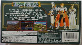 Tales of Phantasia - Caja detrás