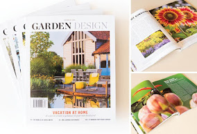 GARDEN DESIGN  MAGAZINE summer issue
