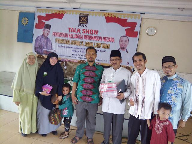 """PKS Medan Area Gelar Talk Show """"Pendidikan Keluarga Membangun Negara"""""""