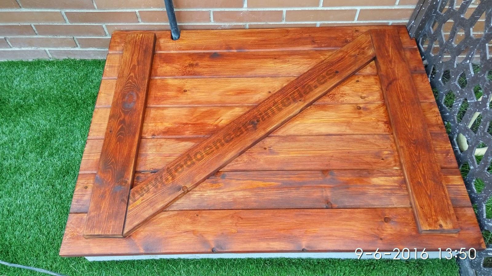Trampilla de madera para jard n todo en carpinter a for Bricolaje y jardin