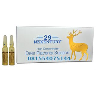Nexentury High Concentration Deer Placenta Solution Original Switzerland