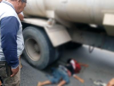 Seorang Anak Tewas Ditempat di Gilas Truck Tangki