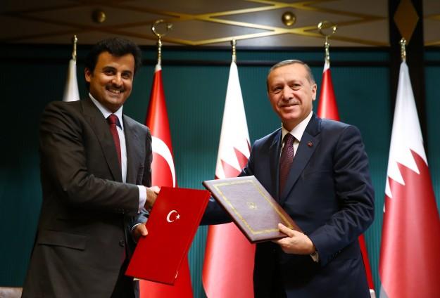 حصار تركيا بعد قطر