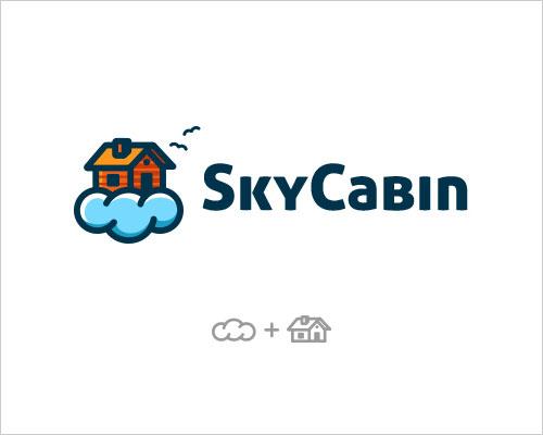 Logo Example - Sky Cabin