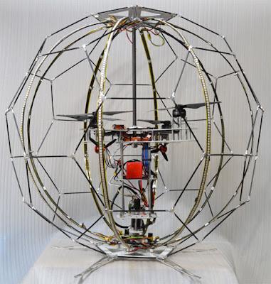 NTT DoCoMo: Japoneses criam 1º drone capaz de reproduzir imagens esféricas em voo