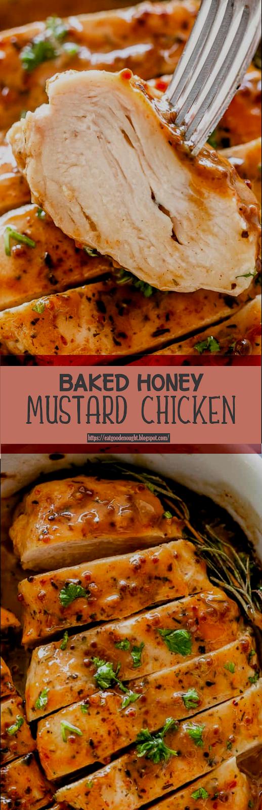Baked Honey Mustard Chicken Eat