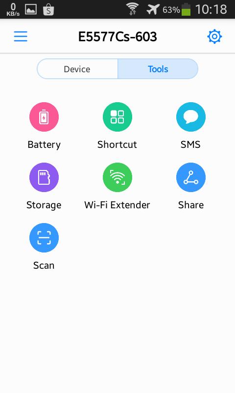 Modem Wifi Huawei E5577
