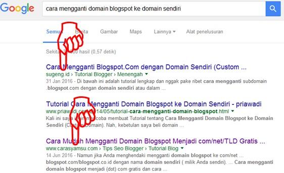 Tidak Mustahil, Ternyata Artikel Blogger Pemula Juga Bisa Bersanding Nongkrong di Halaman Pertama Google Bersama Artikelnya Mas Sugeng