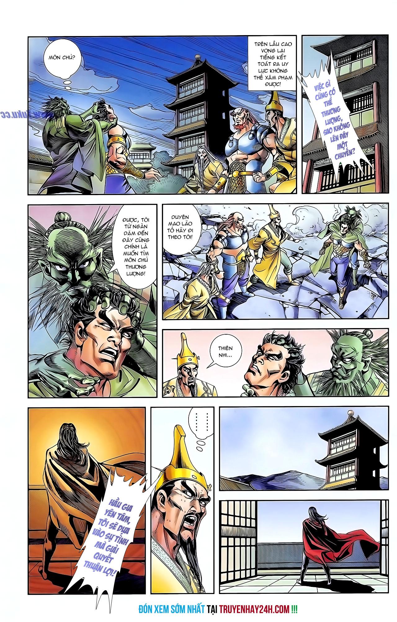Cơ Phát Khai Chu Bản chapter 126 trang 31