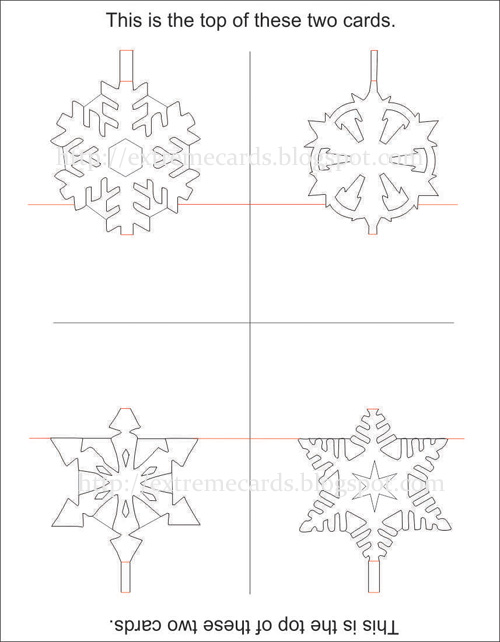 How To Make A 3d Snowflake Printable Instructions