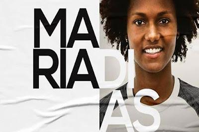 Atleta natural de Ipirá, Maria Dias é contratada pelo Santos