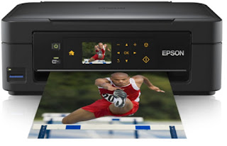 effective printing for habitation users who desire for the added expert affair close Wi Epson Expression Home XP-402 Drivers Download