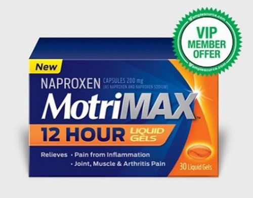 Samplesource VIP Member Free Motrin MortinMax