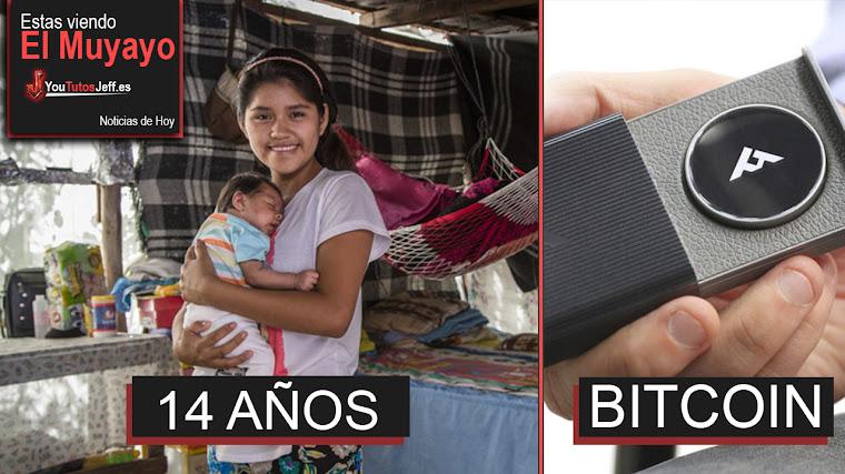 Matrimonio infantil en México, HooFoo Bitcoins, Impresión 3D, Trump Twitter | El Muyayo