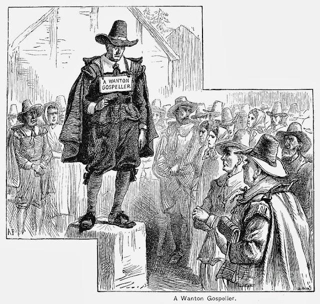punishment of the puritans essay