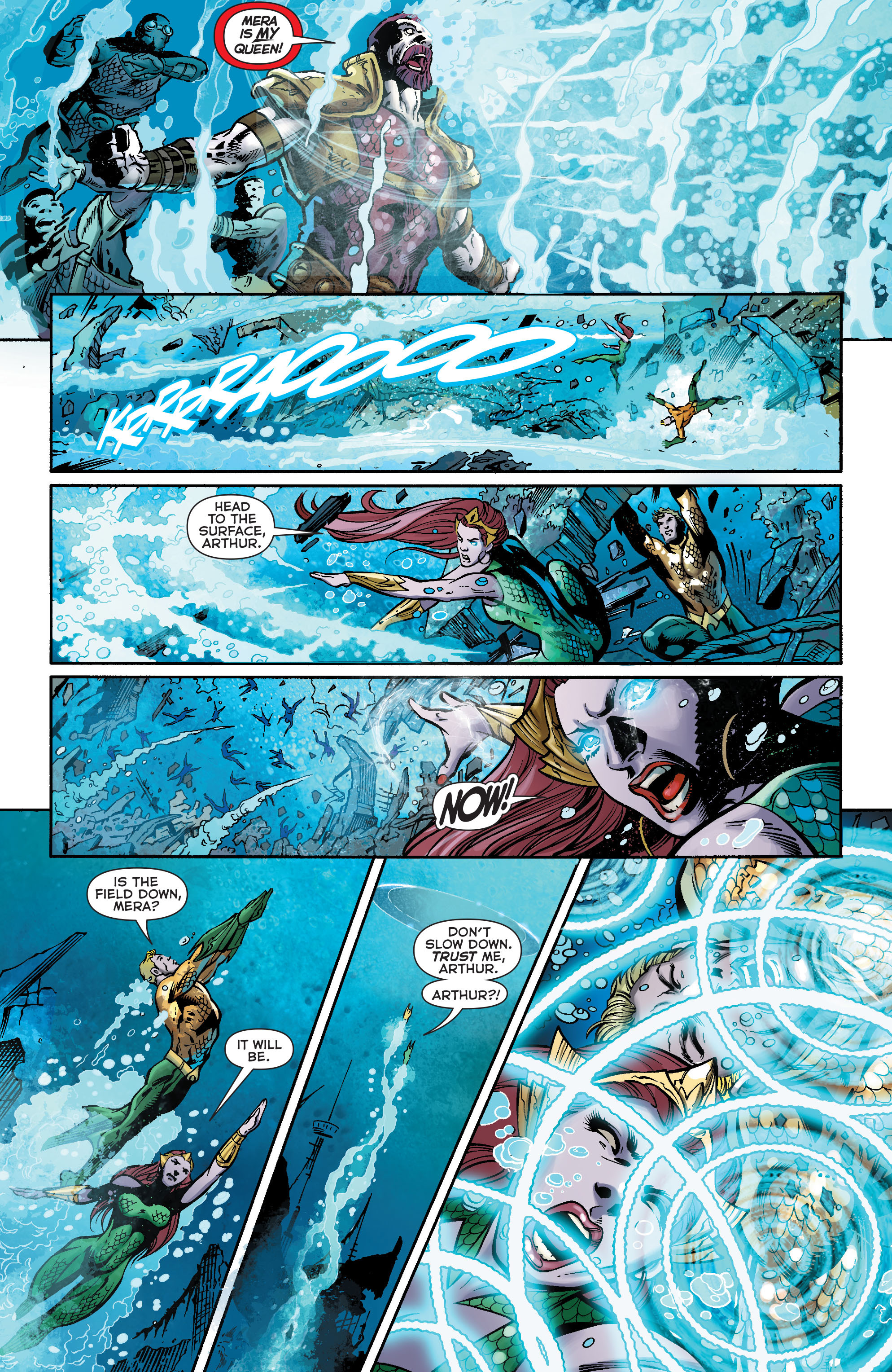 Read online Aquaman (2011) comic -  Issue #23 - 5