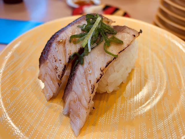 炙燒鯖魚握壽司