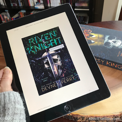 Book Review: Riven Knight (Tin Gypsy #2) by Devney Perry | About That Story