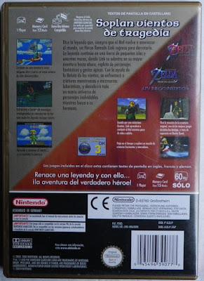 The Legend of Zelda - The Wind Waker - Caja detrás
