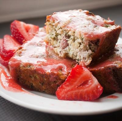 Strawberry Poppy Seed Bread