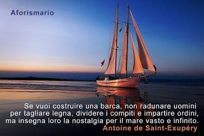 Aforismario barca aforismi frasi e proverbi for Costruire una casa sulla spiaggia su palafitte