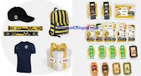 Logo Acquista la pasta Armando De Angelis e vinci decine di t-shirt, zaini, sciarpe e non solo!