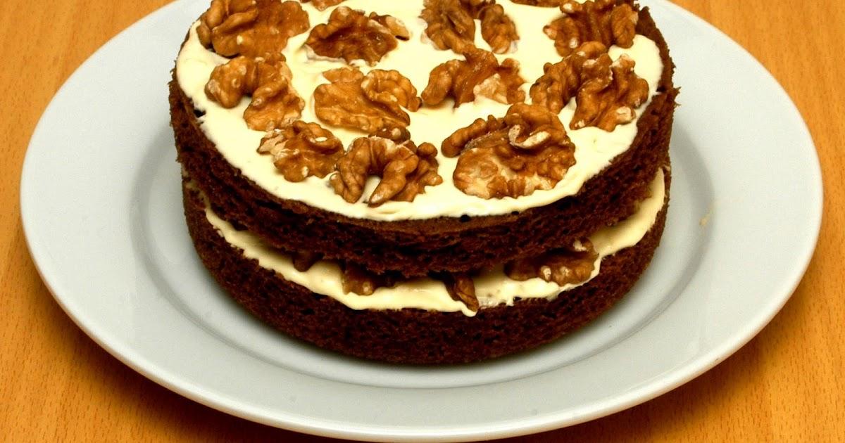 Diabetic Sponge Cake Recipes Uk: The Low Carb Diabetic: Coffee And Walnut Sponge Cake : Low