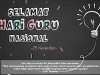 Kumpulan Gambar Ucapan Hari Guru Nasional 2017/2018