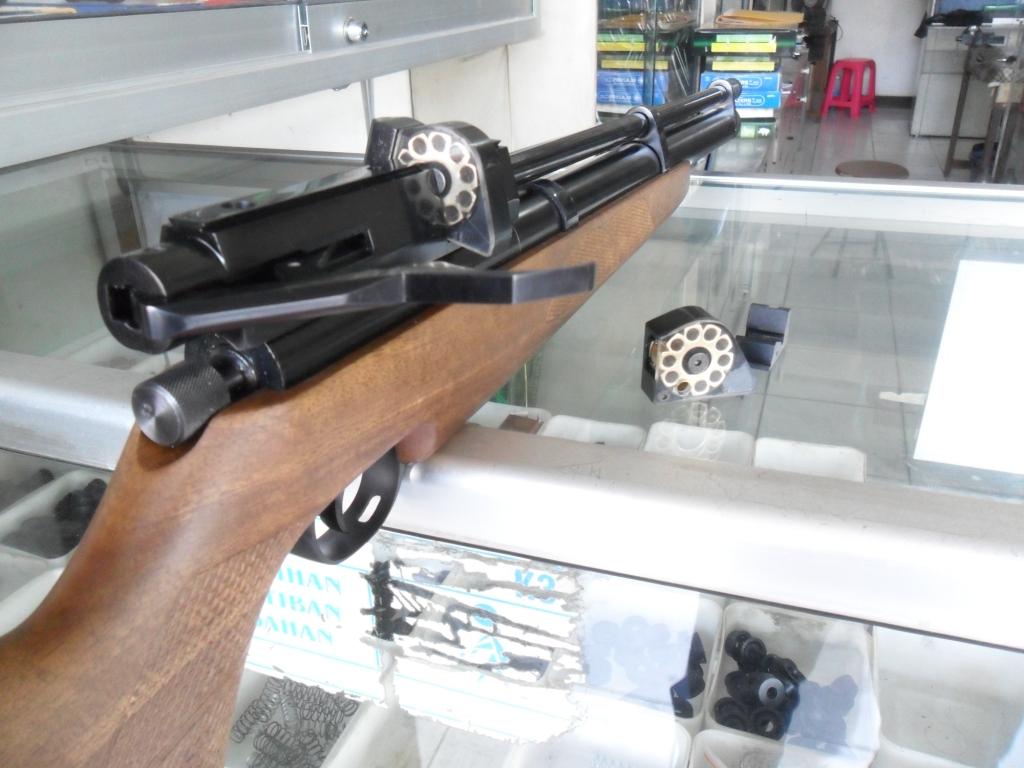 GUNS AND HOBBIES: SENAPAN PCP MDL AIR ARM LW 53 CM