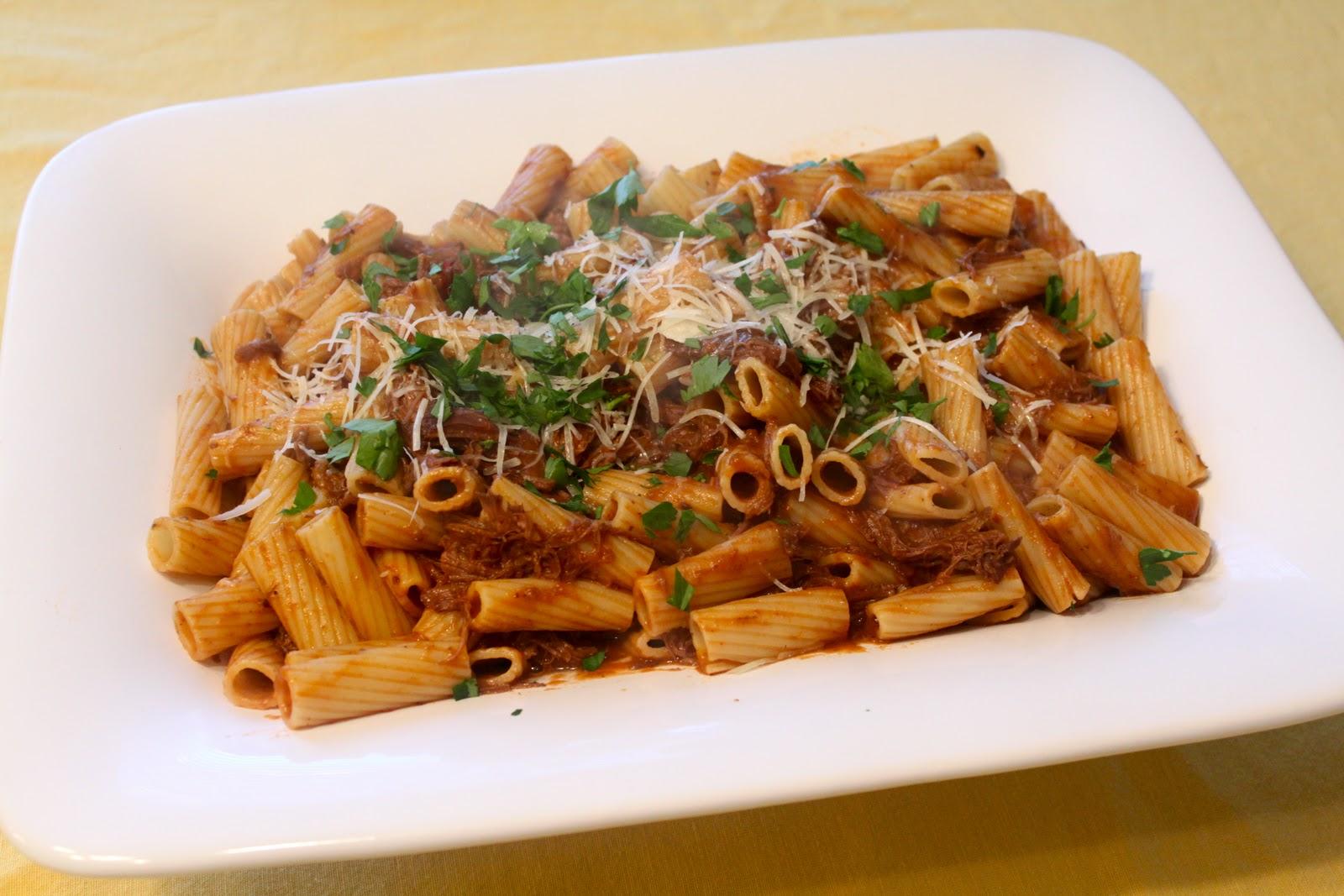 Home Made Lovely: Braised Short Rib Pasta
