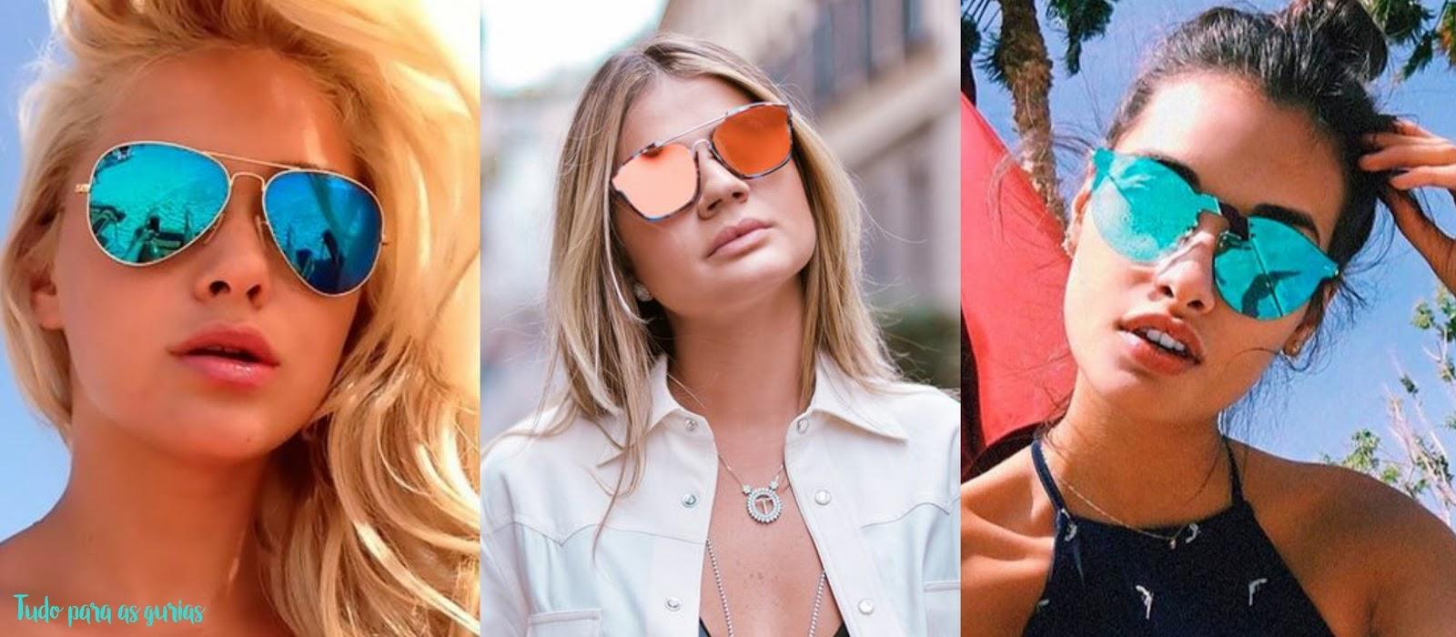 Tendência: Os óculos de sol mais queridinhos do momento.