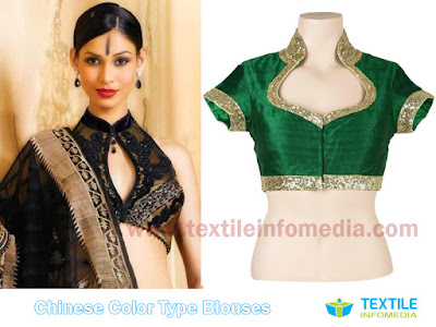 Chinese Color blouses Designs and Patterns