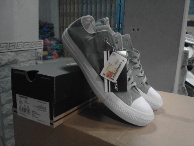 Sepatu Converse All Star Abu-abu Murah - Jual Sepatu