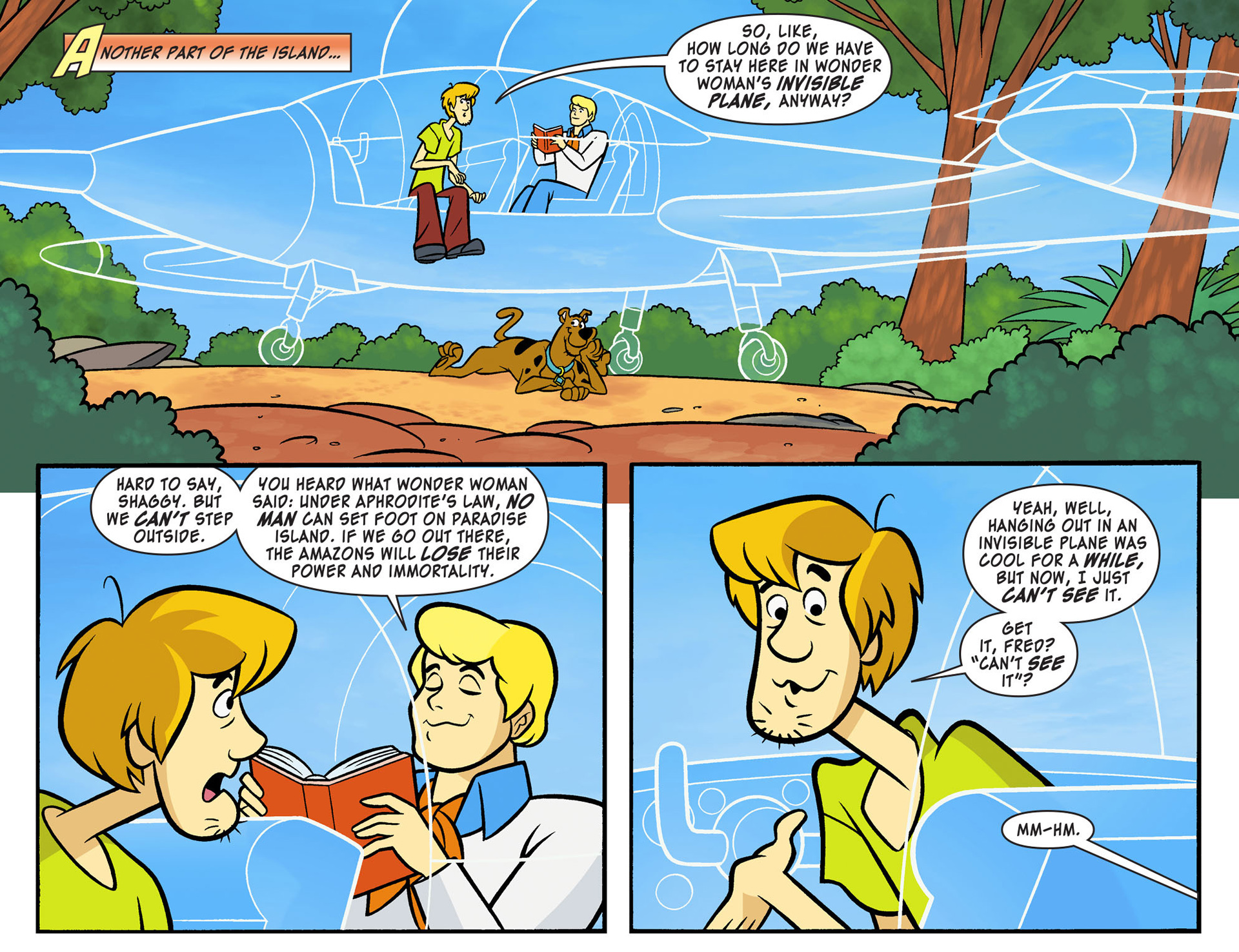 Read online Scooby-Doo! Team-Up comic -  Issue #9 - 9