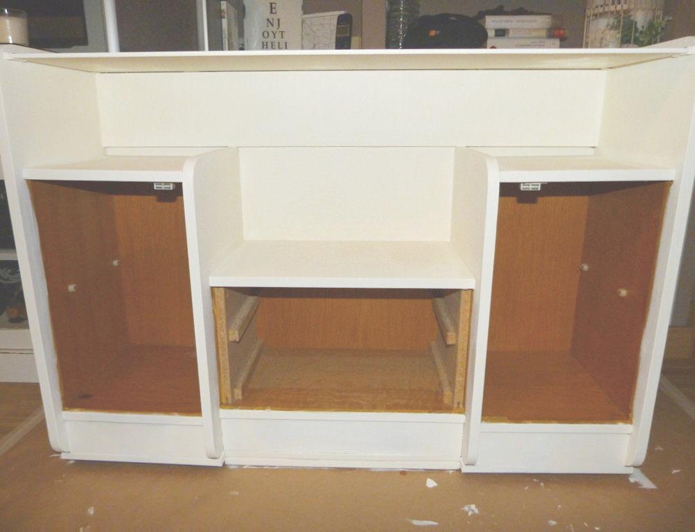 Renovar mueble de recibidor isabel vintage - Mueble antiguo segunda mano ...
